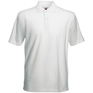 Поло «Heavy Polo», белый_M, 100% х/б, 230 г/м2