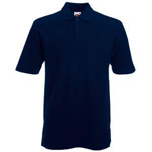 Поло «Heavy Polo», глубокий темно-синий_L, 100% х/б, 240 г/м2