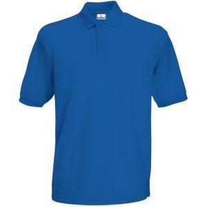 Поло «Apollo», ярко-синий_XL,  100% хлопок, 180 г/м2