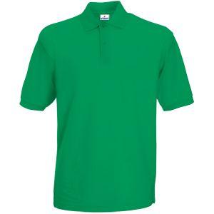 Поло «Apollo», зеленый_M,  100% хлопок, 180 г/м2
