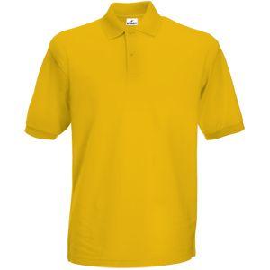 Поло «Apollo», желтый_XL,  100% хлопок, 180 г/м2