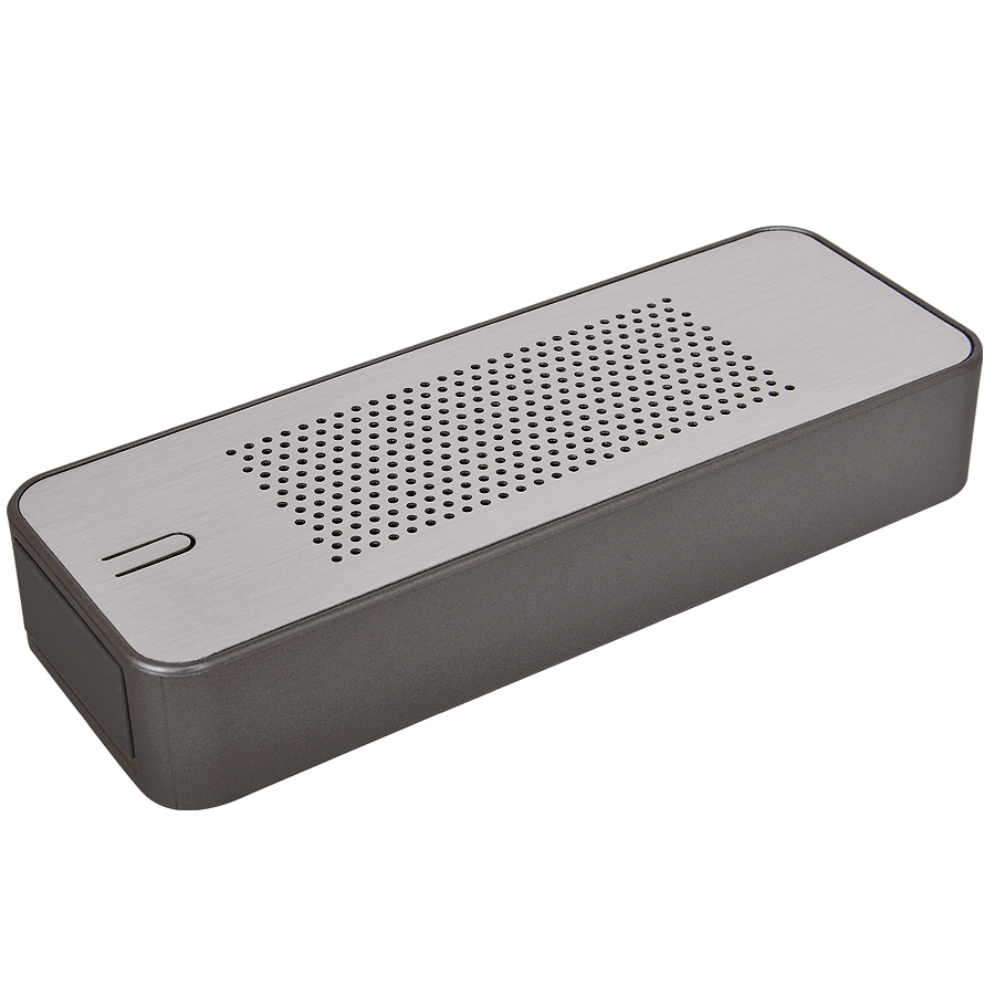 Универсальное зарядное устройство c bluetooth-стереосистемой «Music box» (4400мАh), 14,4х5,2х2,4см,м
