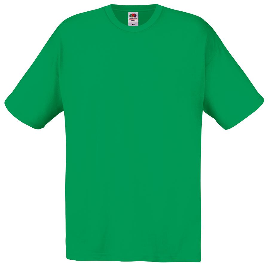 "Футболка ""Original Full-Cut T"", зеленый_2XL, 100% х/б, 145 г/м2"