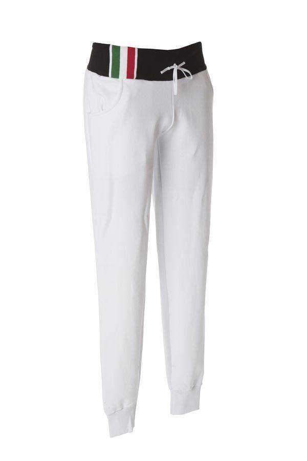 CAPRI Жен. Штаны Италия белый, размер M