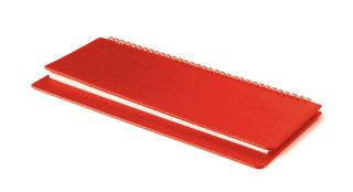 Планинг недатированный, Sidney Nebraska, красный, белый блок, открытый гребень