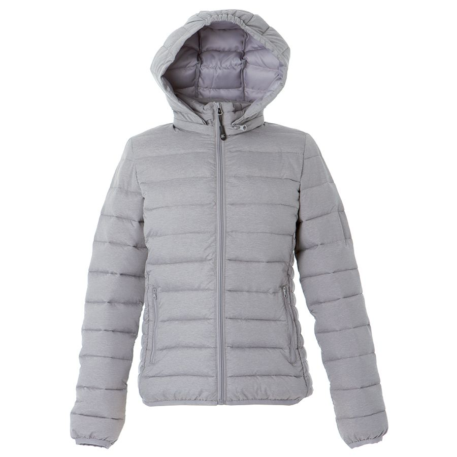 Куртка женская «Vilnius Lady», серый_ S, 100% нейлон, 20D; подкладка: 100% полиэстер, 300T