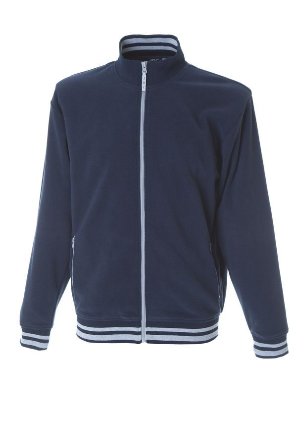 NORVEGIA Куртка флис, на молнии, темно-синий, размер 3XL