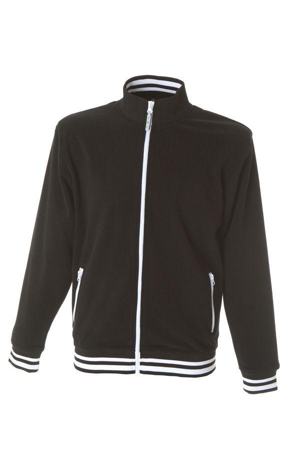 NORVEGIA Куртка флис, на молнии, черный, размер XL