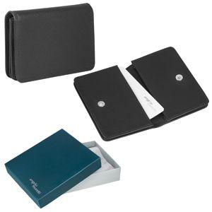 Фотография товара Футляр для визиток  «Триест»,  9.5*7 см,  кожа, подарочная упаковка