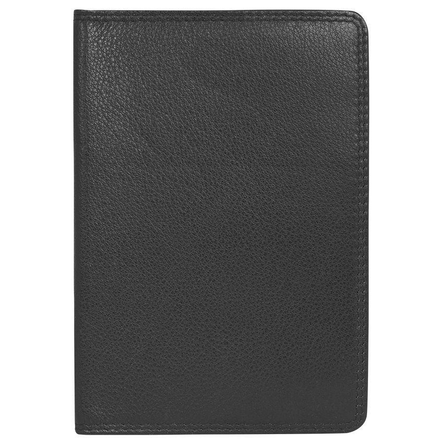 Бумажник водителя «Модена»,  черный, 10*14 см,  кожа, подарочная упаковка