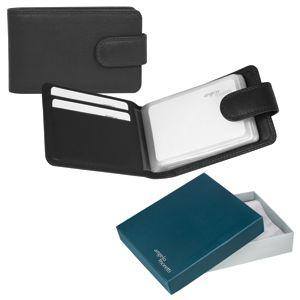 Футляр для  кредитных карт «Верона»,  11*6,5 см,  кожа, подарочная упаковка