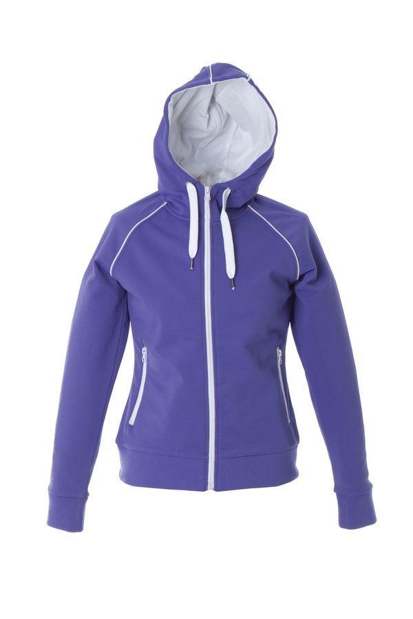 SIVIGLIA Жен. Толстовка, с капюшоном, на молнии, светло- фиолетовый, размер XXL