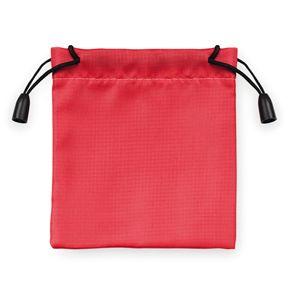 Мешочек подарочный, красный, 9,5х10см, полиэстер