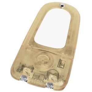 Фотография товара Подсветка для мобильного телефона на липучке с сигналом входящего вызова; желтый; 6,15х3х0,6 см; пла