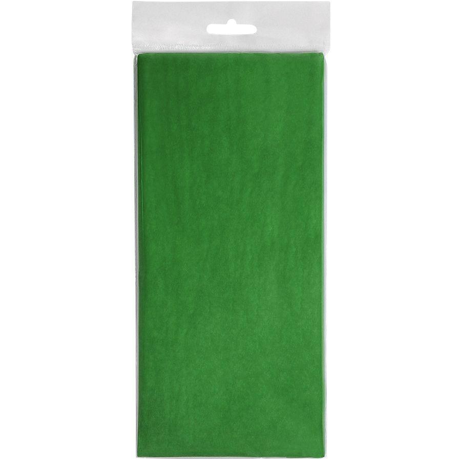 Упаковочная бумага «Тишью», зеленый, 10 листов в упаковке, размер листа 50*75 см