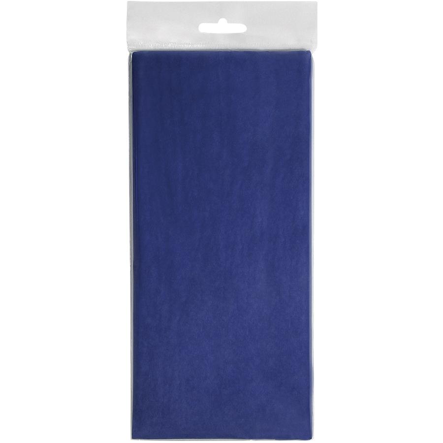Упаковочная бумага «Тишью», синий,  10 листов в упаковке, размер листа 50*75 см