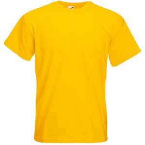 "Футболка ""Super Premium T"", солнечно-желтый_2XL, 100% х/б, 205 г/м2"