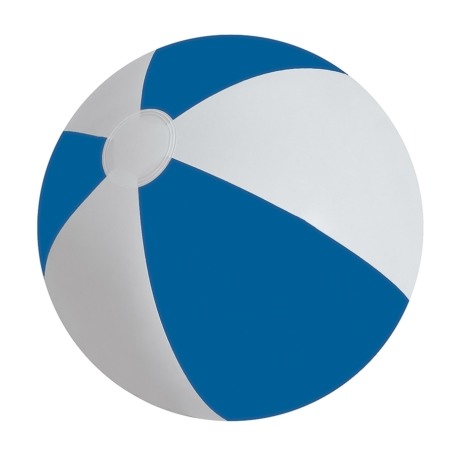 Мяч надувной «ЗЕБРА»,  синий, 45 см, ПВХ