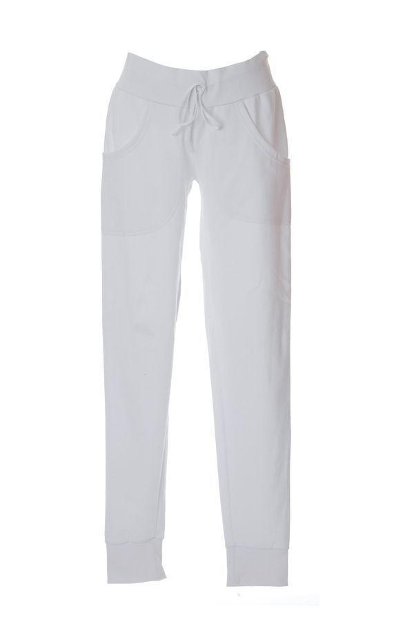 PAVIA Жен. Штаны Италия белый, размер S