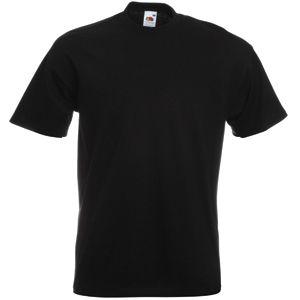 Футболка мужская «Super Premium T», черный_M, 100% х/б, 190 г/м2