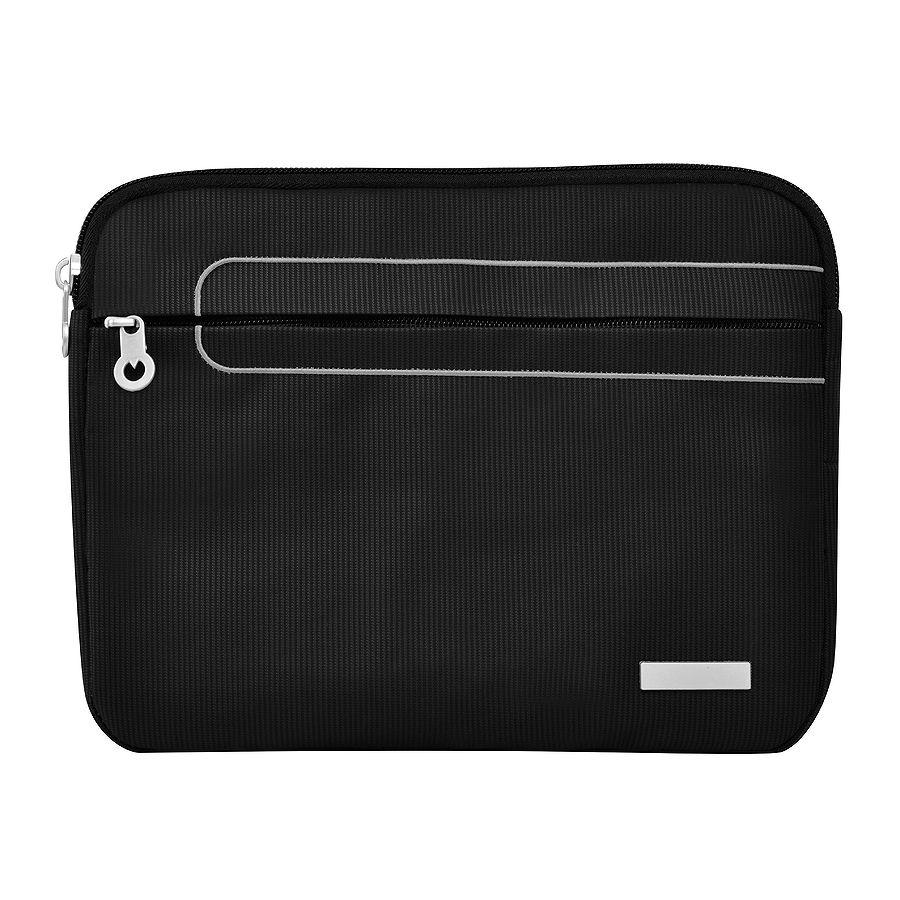 """Чехол для планшета """"Messenger"""", черный, 26.50 × 2 х 21 см, 75 D полиэстер"""
