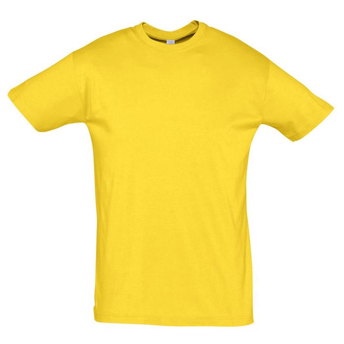 "Футболка ""Regent"" солнечно-желтый_M, 100% х/б, 150г/м2"
