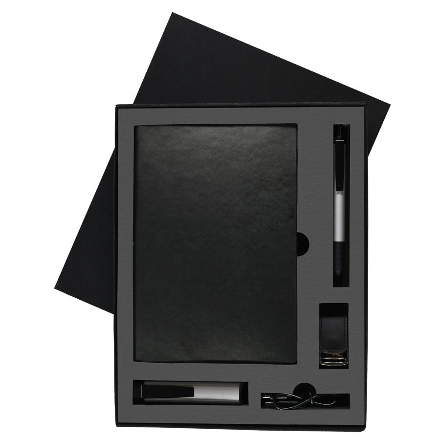 Набор  TWIZZY TOWER:универсальное зарядное устройство(2200мАh),блокнот,USB flash-карта и ручка в под