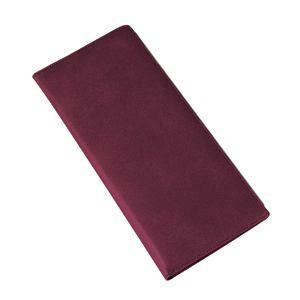 Фотография товара Визитница (128 визиток); бордовый; 12х26,3 см; искуccтвенная кожа; шелкография