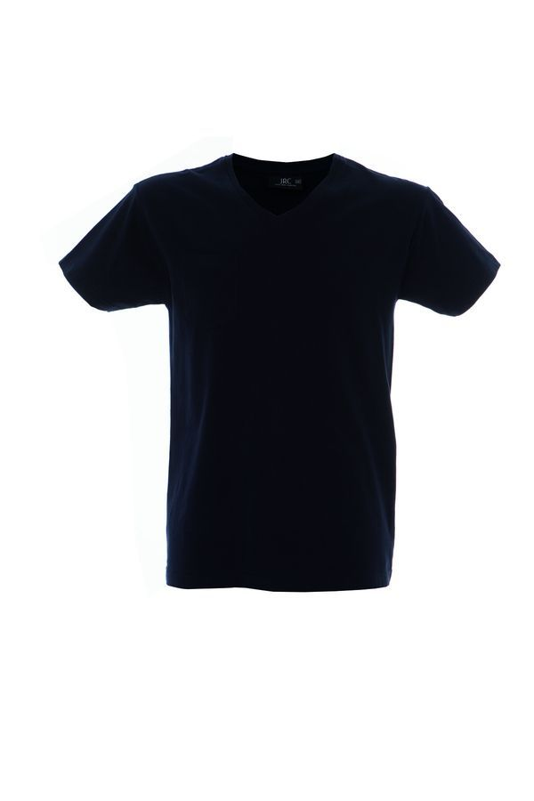 CUBA футболка V-вырез темно-синий, размер L