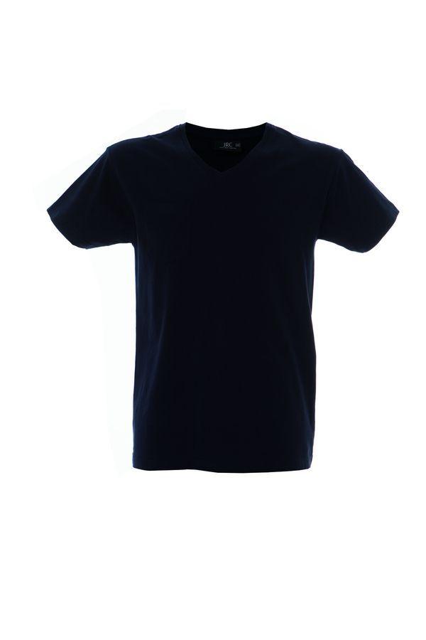 CUBA футболка V-вырез темно-синий, размер M