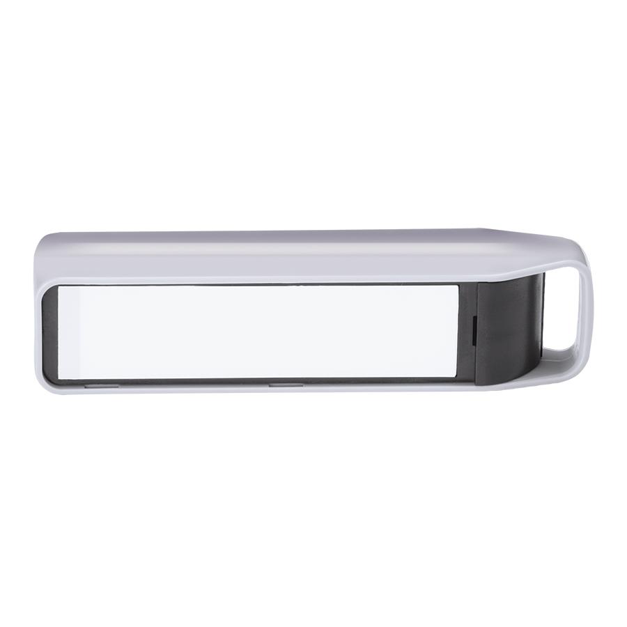 Универсальное зарядное устройство с подсветкой логотипа «LOGO» (2200mAh), 11,5х,2,8х2,8 см,пластик