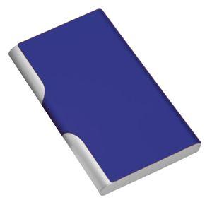 Фотография товара Визитница с брелоком; синий; 9,6х6,2 см; металл
