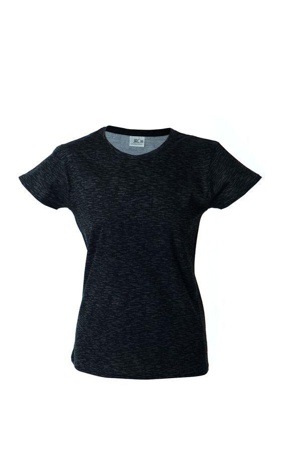 IBIZA LADY Жен. футболка круглый вырез, черный, размер S