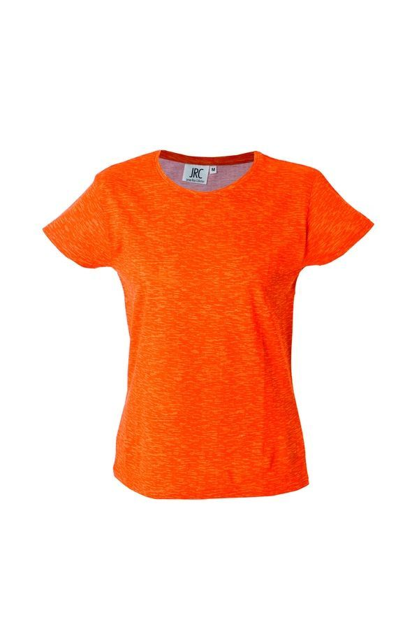 IBIZA LADY Жен. футболка круглый вырез, оранжевый, размер L