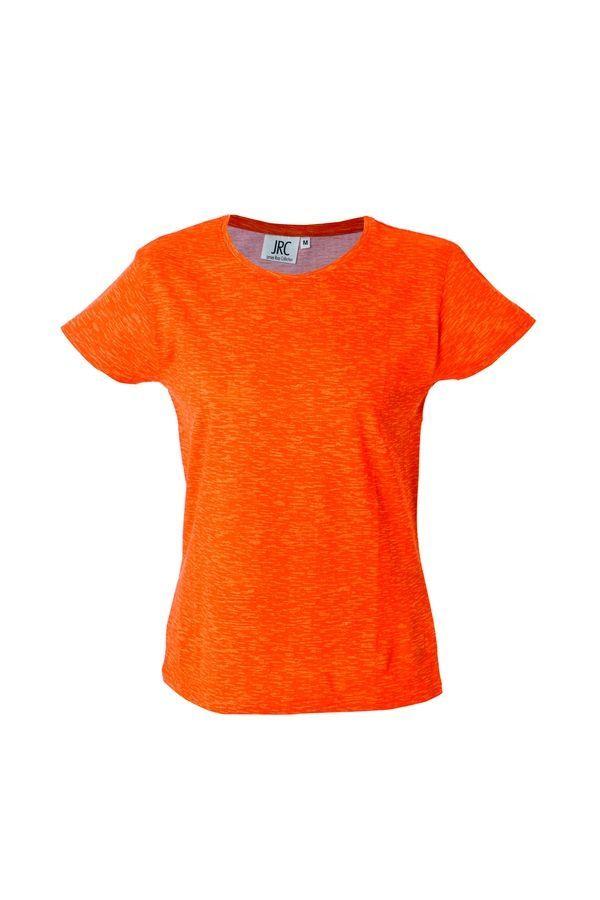 IBIZA LADY Жен. футболка круглый вырез, оранжевый, размер M