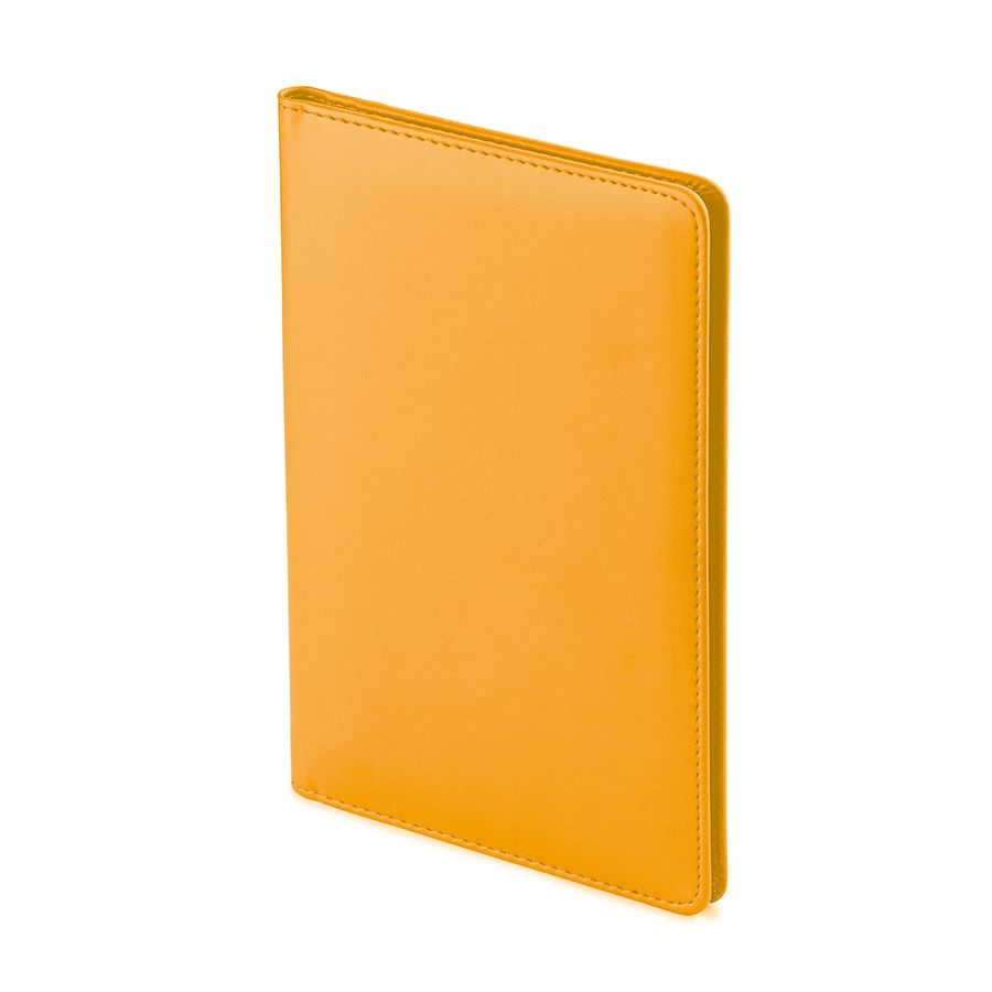 Визитница Velvet, оранжевый, 72 визитки