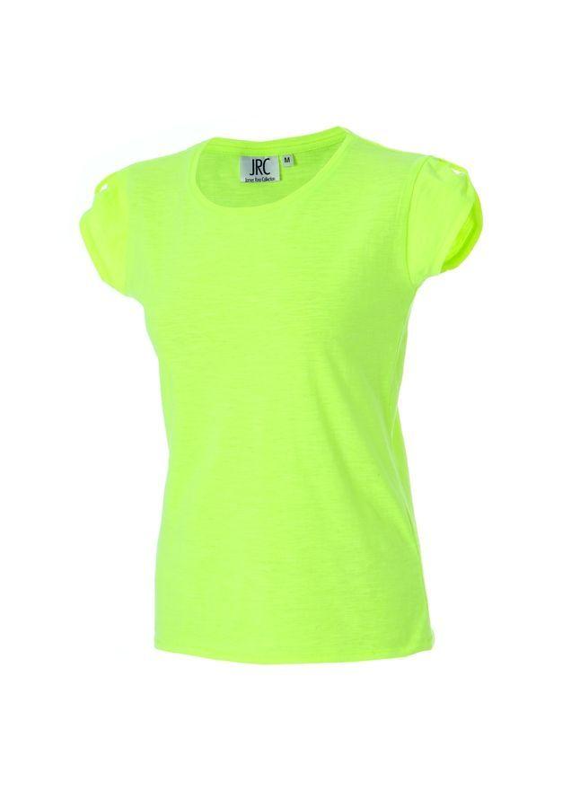 PERTH LADY Жен. футболка круглый вырез  желтый флуоресцентный, размер L