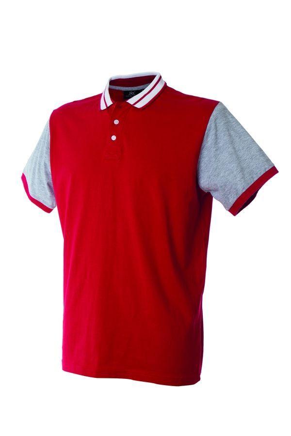 WASHINGTON Поло с короткими рукавами темно- красный, размер XL