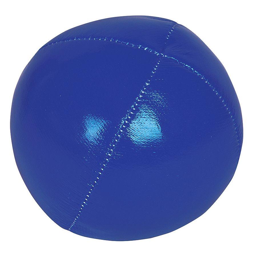 Мяч-антистресс, синий, D=6,5см, искусственная кожа