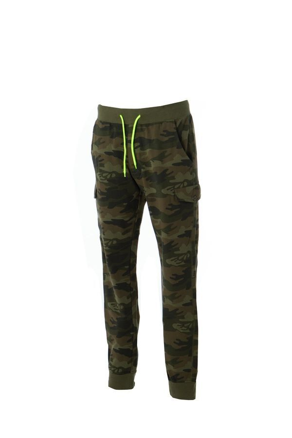 DAMASCO Штаны с карманами, камуфляж, размер S