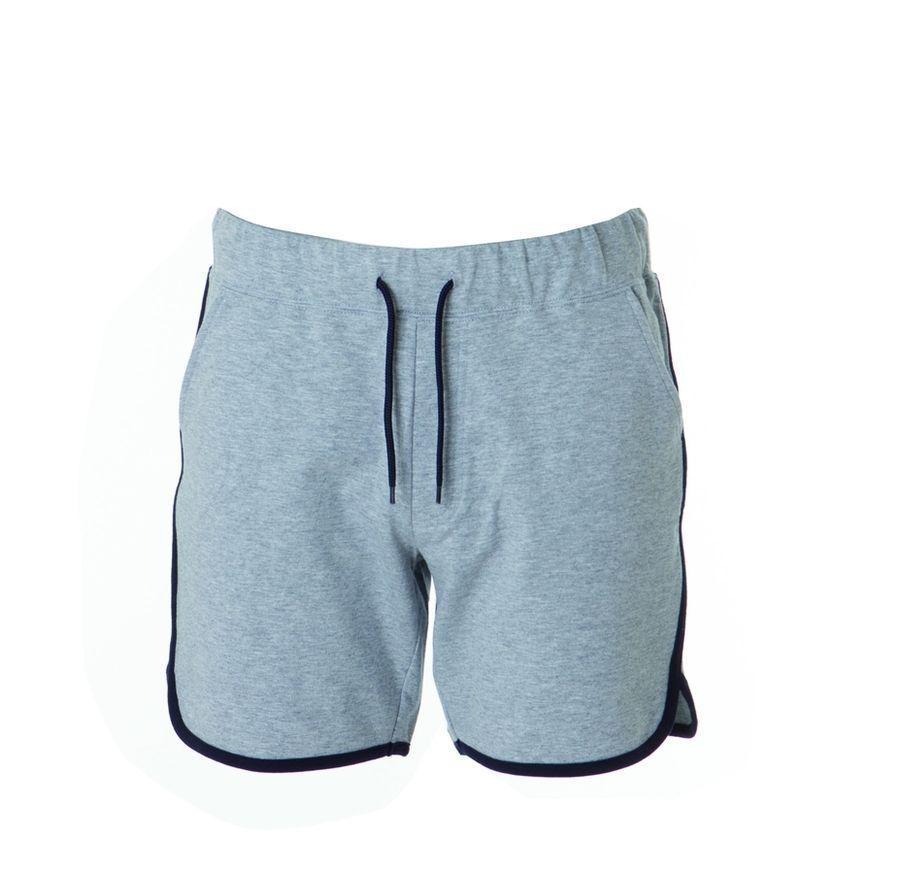 CRETA MAN Муж. шорты серый меланж, размер XXL