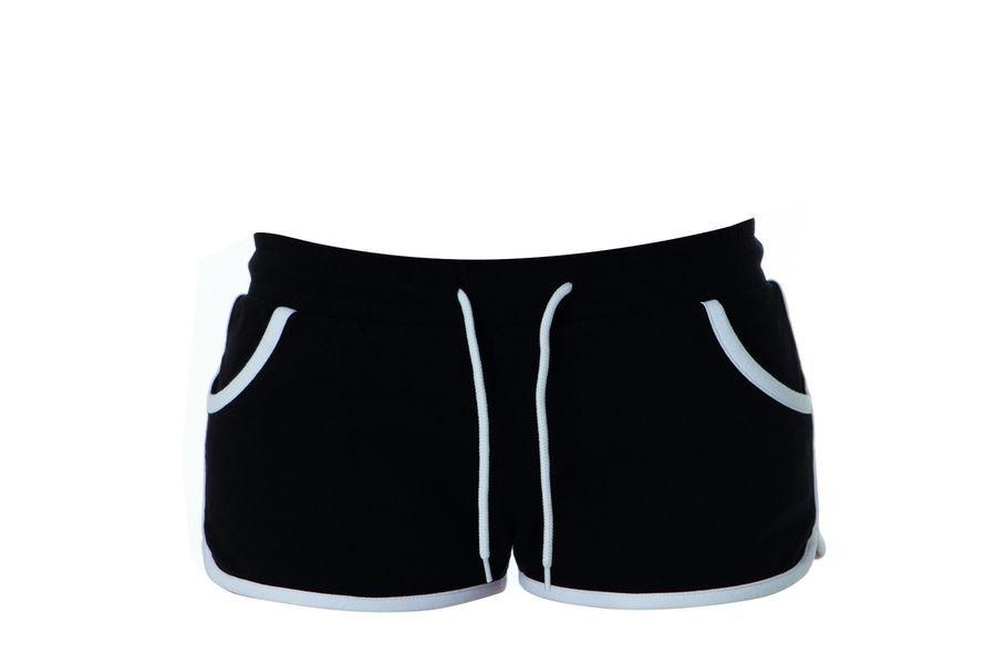 CRETA LADY Жен. шорты черный, размер XXL