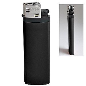 Фотография товара Зажигалка кремневая ISKRA, черная, 8,18х2,53х1,05 см, пластик/тампопечать
