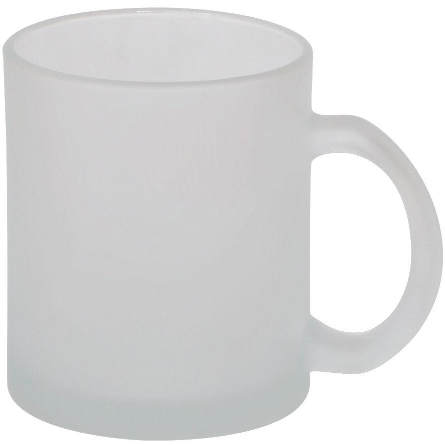 Кружка «Frost»,белая,320мл,стекло