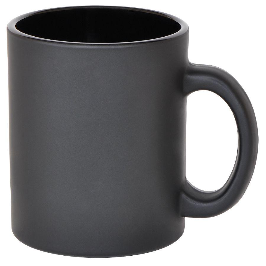 Кружка «Frost»,черная,320мл,стекло