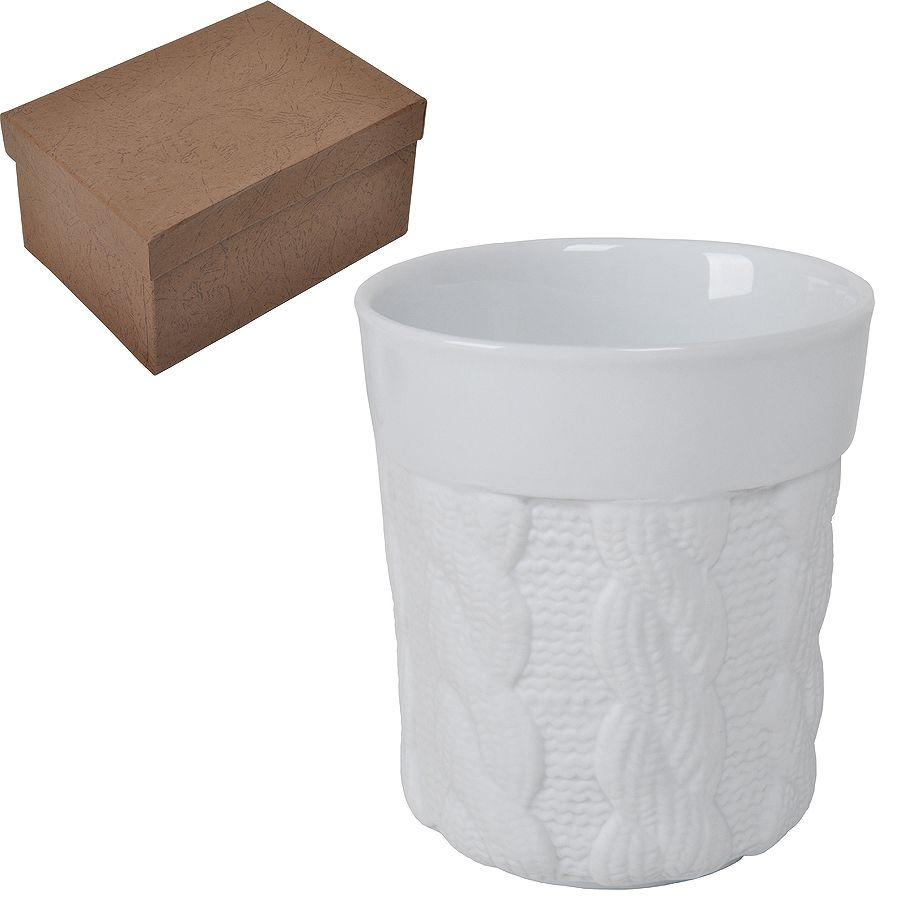 Кружка «Warm» с двойными стенками в подарочной упаковке, 200мл, фарфор