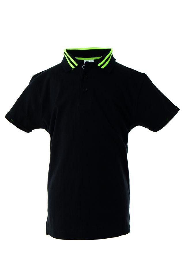 TENERIFE Поло с короткими рукавами черный, размер XXL