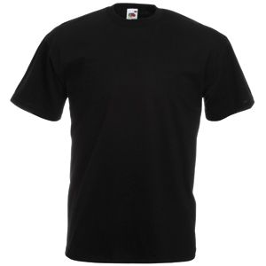 Футболка «Valueweight T», черный_S, 100% х/б, 165 г/м2