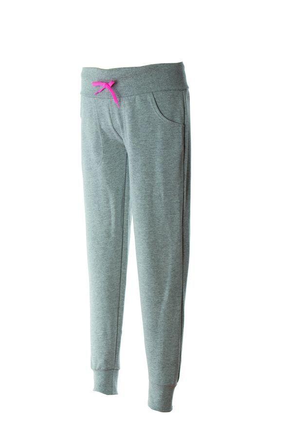 BERGAMO LADY Жен. Штаны Италия серый меланж, размер XL