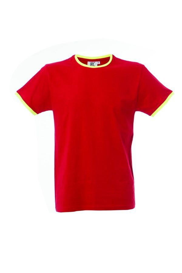 LIPSIA футболка круглый вырез красный, размер S